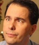 Governor Walker in mid thought